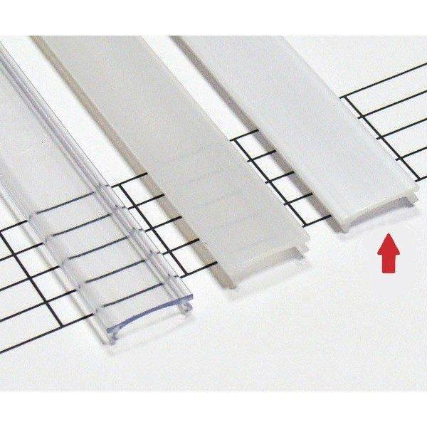 LEDLabs Mléčný difuzor KLIK pro profily LUMINES A/B/C/D/G/H/Z/Y 1m